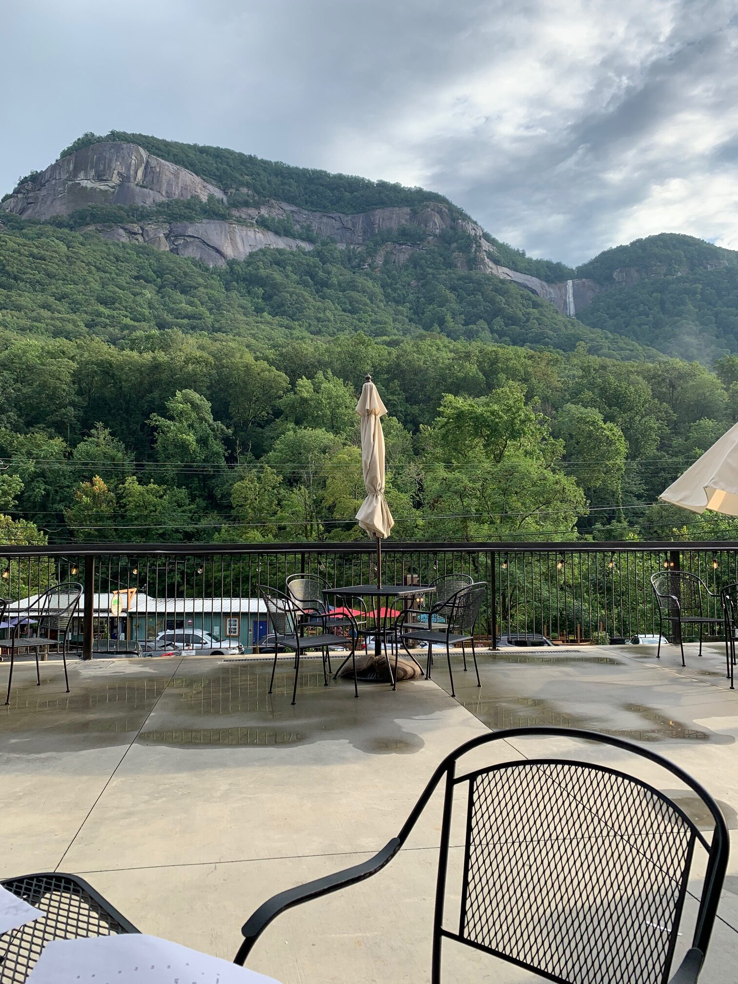 view of winery at Chimney Rock and Hickory Nut Falls