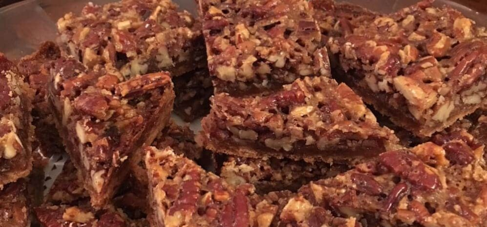 Most Requested Cookie:  Pecan Bars  Most Requested Cookie: Pecan Bars, Pinecrest Bed & Breakfast